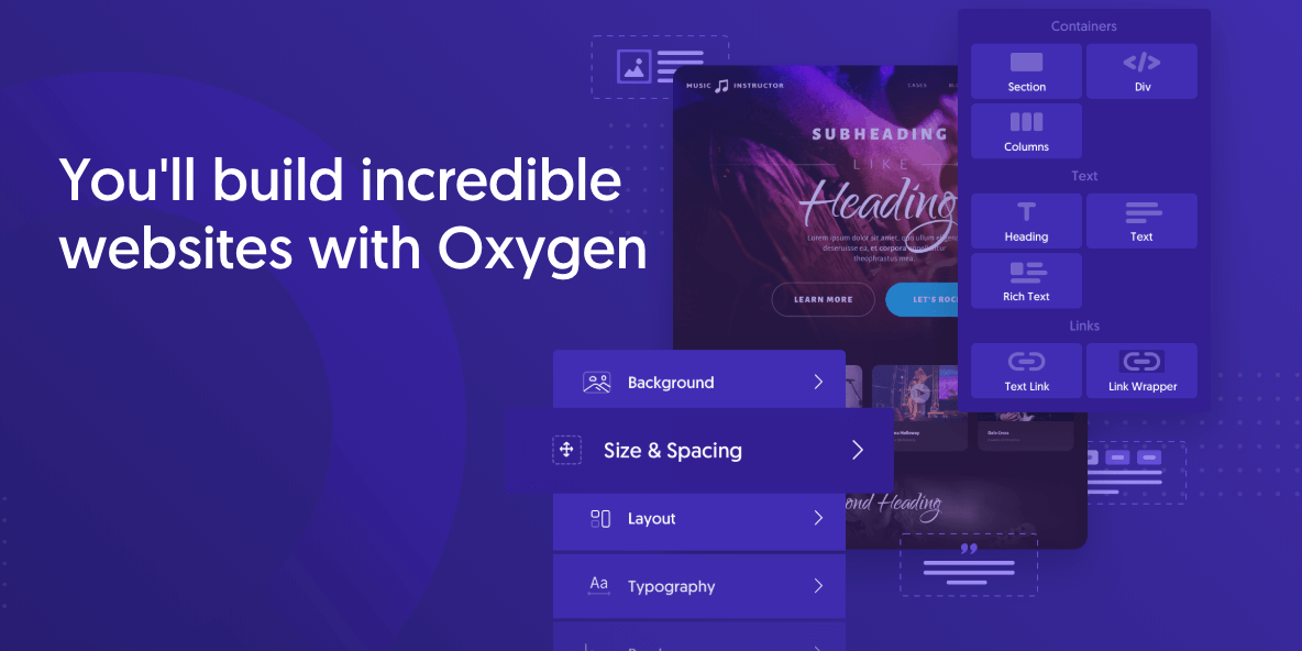 How To Use Oxygen With Other WordPress Builders