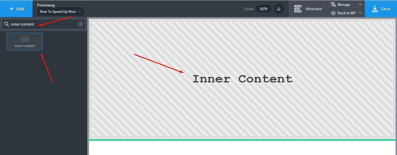 Inner Content Oxygen Builder